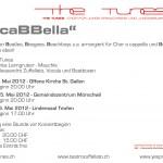Flyer a caBBella